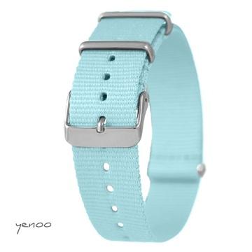 Watch strap - nylon, blue