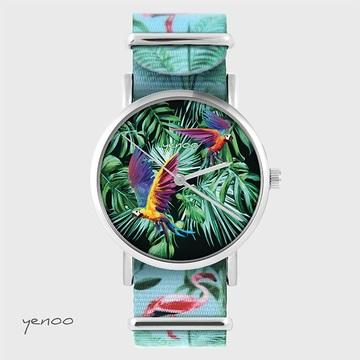 Watch - Parrots, tropical -...
