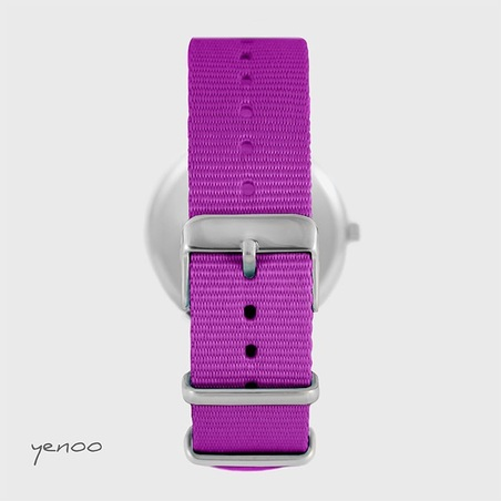 617455fec5ff8d Watch - Hummingbird, Magenta, nato