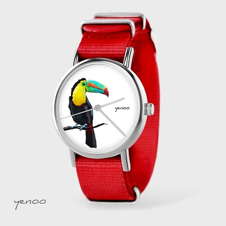 Watch - Toucan, Red, nato