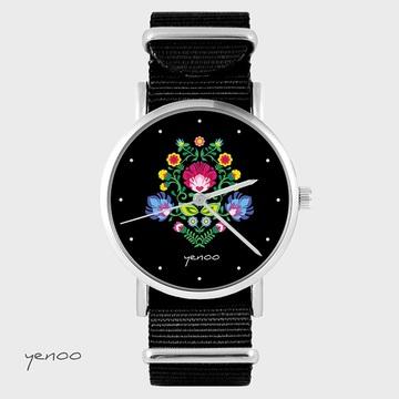 Watch - Folk, Black, nylon