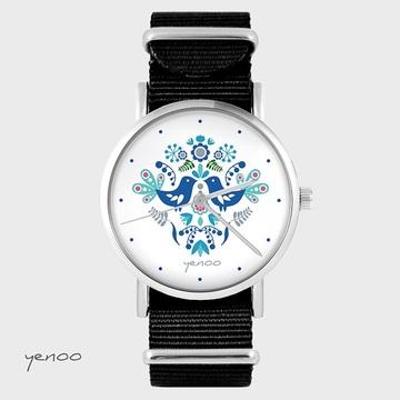 Watch - Folk blue birds,...
