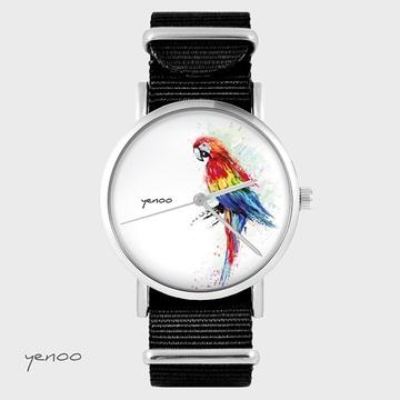 Watch - Parrot, Black, nylon