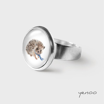 Yenoo ring - Hedgehog