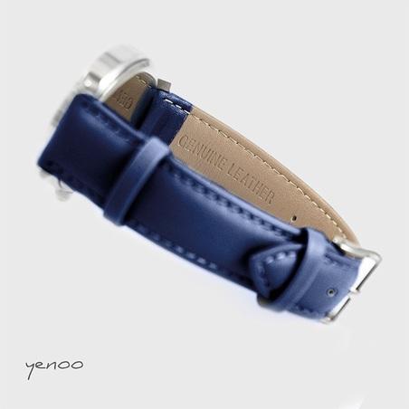 Zegarek, bransoletka - Ziemia - granatowy