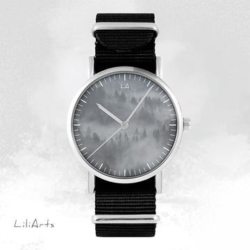 Watch - Wild Life, Black, nato