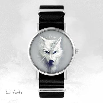 Watch - White wolf, Black,...