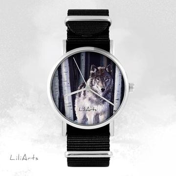 Zegarek -  Szary wilk -...