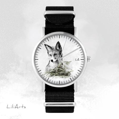 Watch - Fox, Black, nato