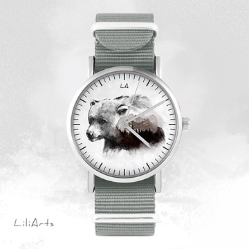 Watch - Bear, Grey, nato