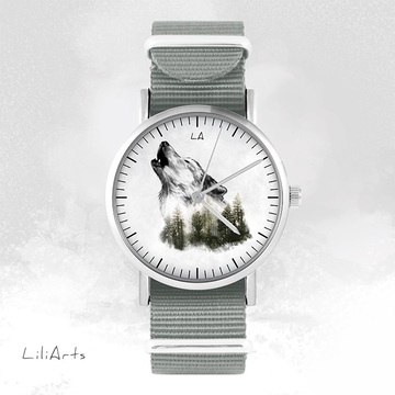 Watch - Wolf, Grey, nato
