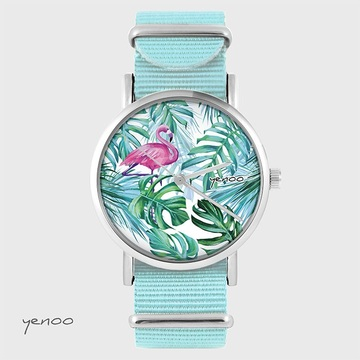 Watch - Flamingo, Tropical,...