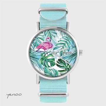 Watch - Flamingo, Tropical,...