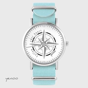 Watch - Compass, Blue, nato