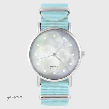 Watch - Grey, Blue, nato