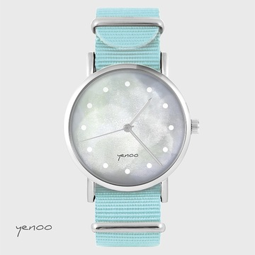 Watch - Grey, Blue, nylon
