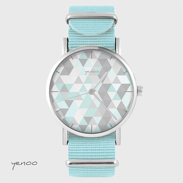 Watch - Geometric pastel...