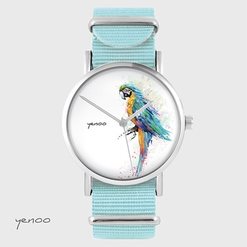 Watch - Turquoise parrot,...