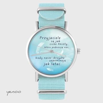 Watch - Friends, Blue, nylon