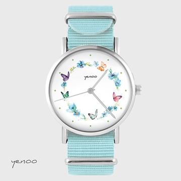 Watch - Wreath butterflies,...