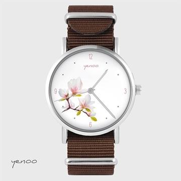 Watch - Magnolia - brown, nato