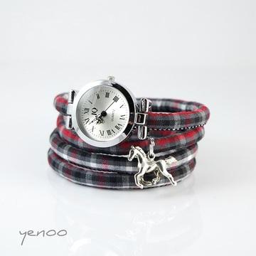Watch - Horse - tartan