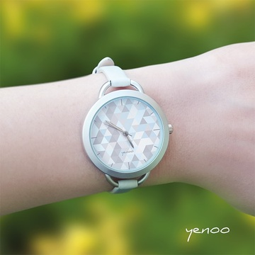 Watch - Geometric pastel,...