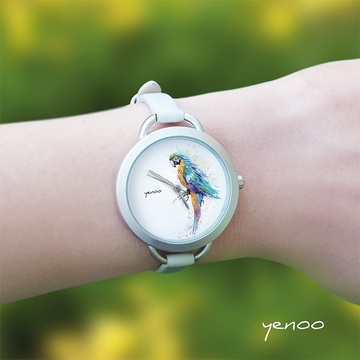 Watch - Turquoise parrot