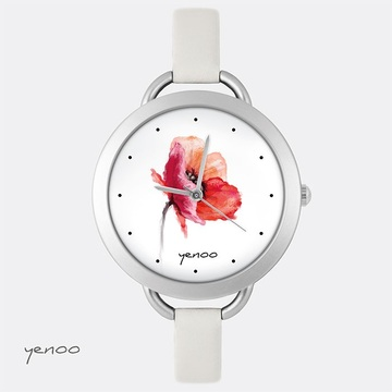 Watch - Poppy, flower