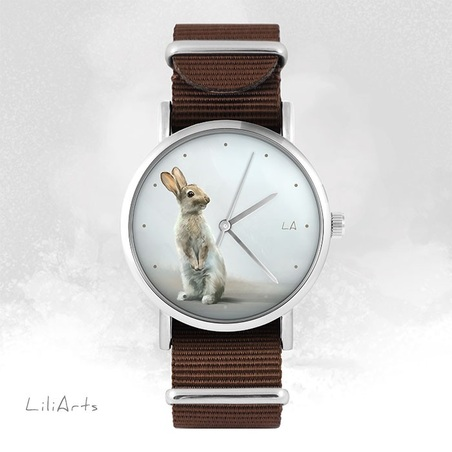 Watch - Hare - brown, nato
