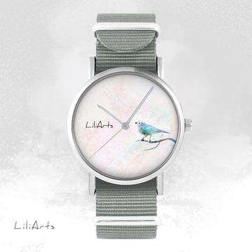 Watch - Turquoise Bird -...