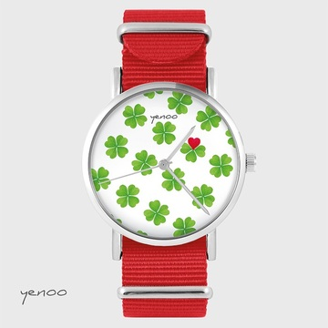 Watch - Lucky heart - red,...