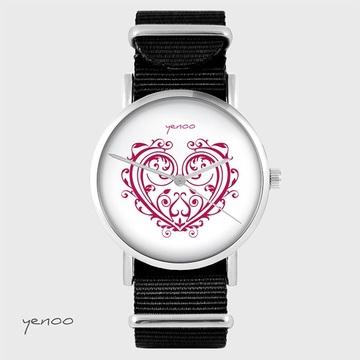 Watch - Ornamental heart -...