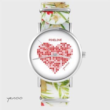 Watch - Pixelove - flowers,...