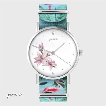 Watch - Lily - flamingos,...