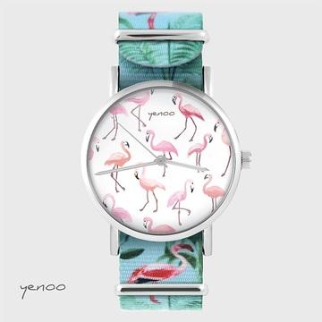 Zegarek yenoo - Flamingi -...