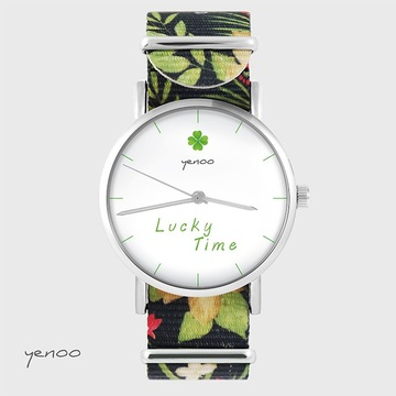 Watch - Lucky time - black,...