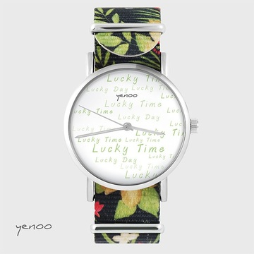Watch - Lucky day - black,...
