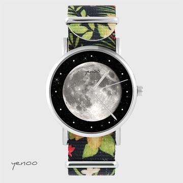 Watch - Moon - black,...