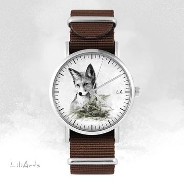 Watch - Fox - brown, nylon