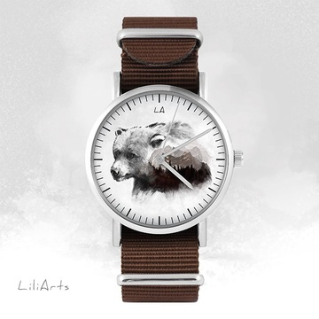 Watch - Bear - brown, nato