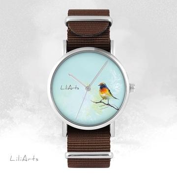 Watch - Colorful bird -...