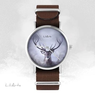 Watch - Deer - brown, nato,...