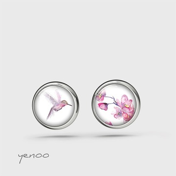 Earrings with graphics,...