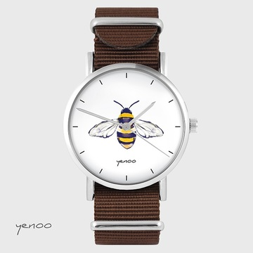 Watch - Bee - brown, nato