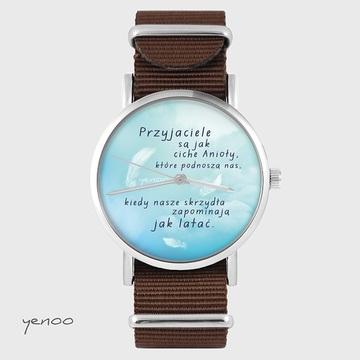 Watch - Friends - brown, nylon