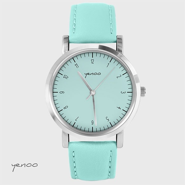 Fashion watch, Bracelet - Simple elegance- turquoise