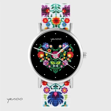 Watch - Folk heart black -...