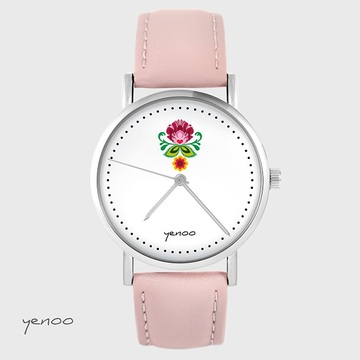 Yenoo watch - Folk flower -...