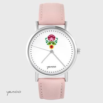 Yenoo watch - Folk flower -...
